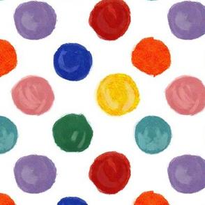 Lotsa Dots Jewel Tones - large