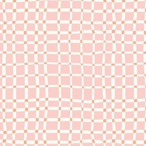 Weeds & Wildflowers: Pink Plaid