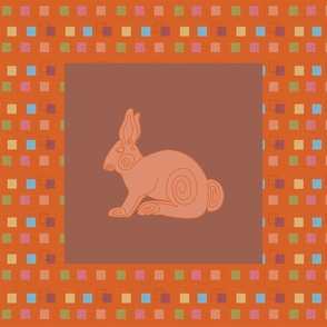 Spiral Rabbit Panel