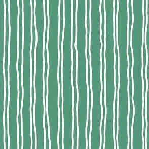 inverted squiggle stripes   large scale emerald green-01