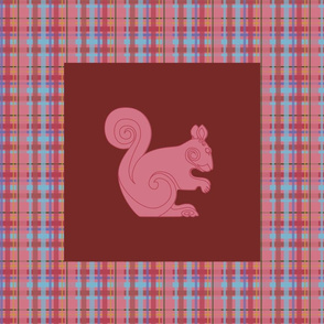 Spiral Squirrel Panel