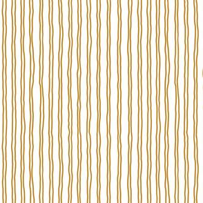 squiggle stripes   small scale in dark gold