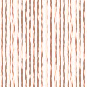 squiggle stripes   small scale in orange