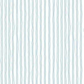 squiggle stripes   small scale in sky blue