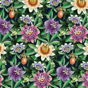Passion Flowers-Multicolor-Large