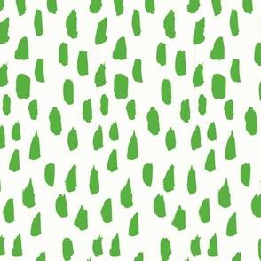 Lemondrop // Kelly Green on Almost White