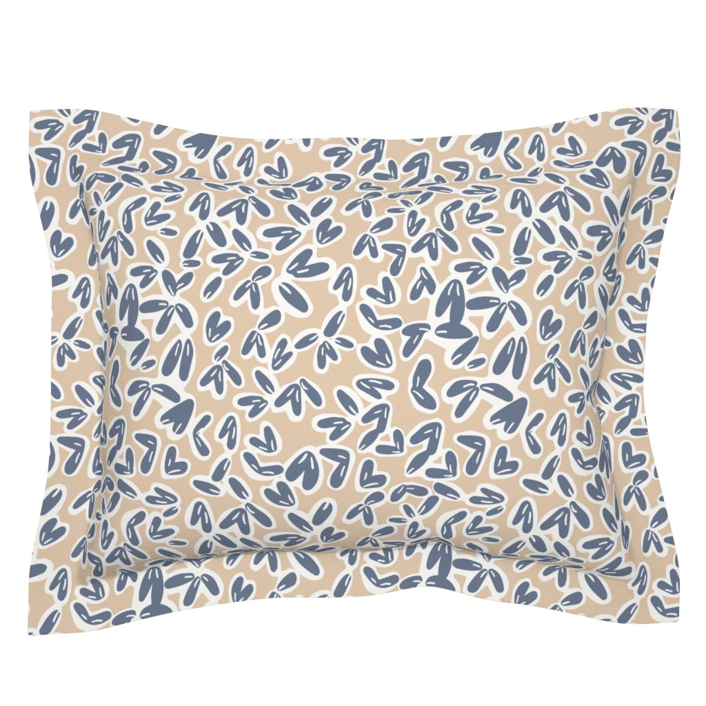 Sebright Pillow Sham featuring Leaves by jillianhelvey