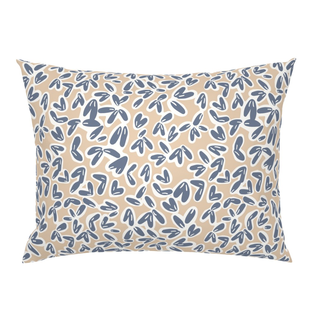 Campine Pillow Sham featuring Leaves by jillianhelvey