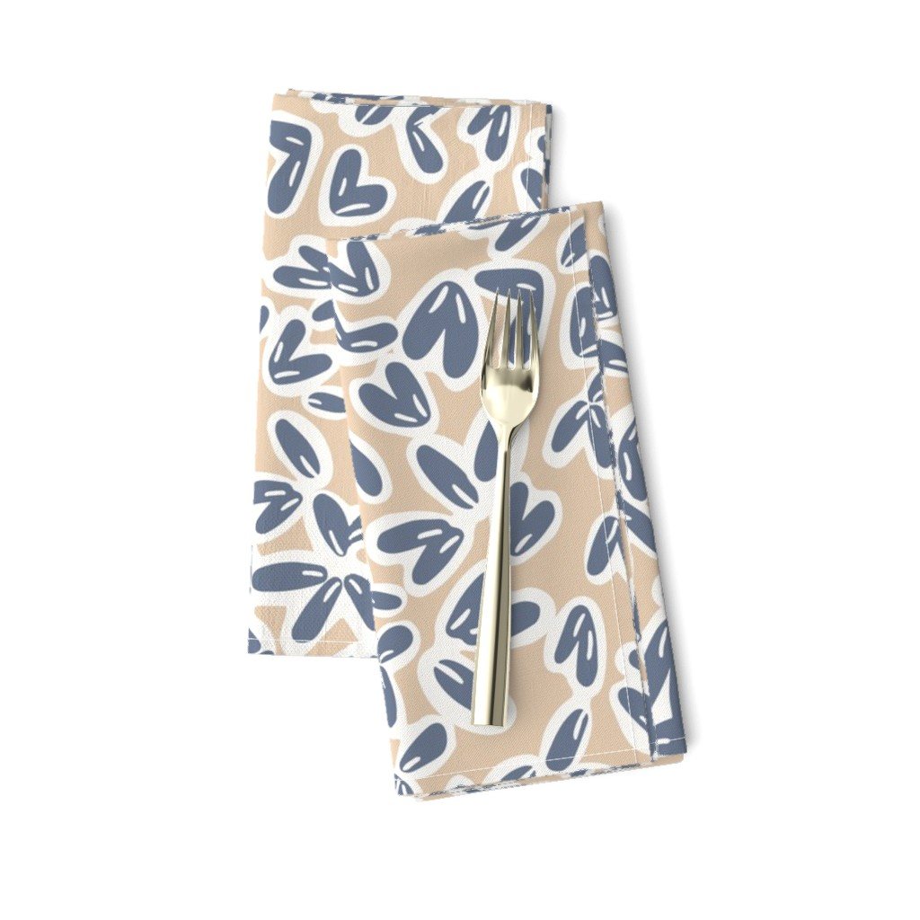 Amarela Dinner Napkins featuring Leaves by jillianhelvey