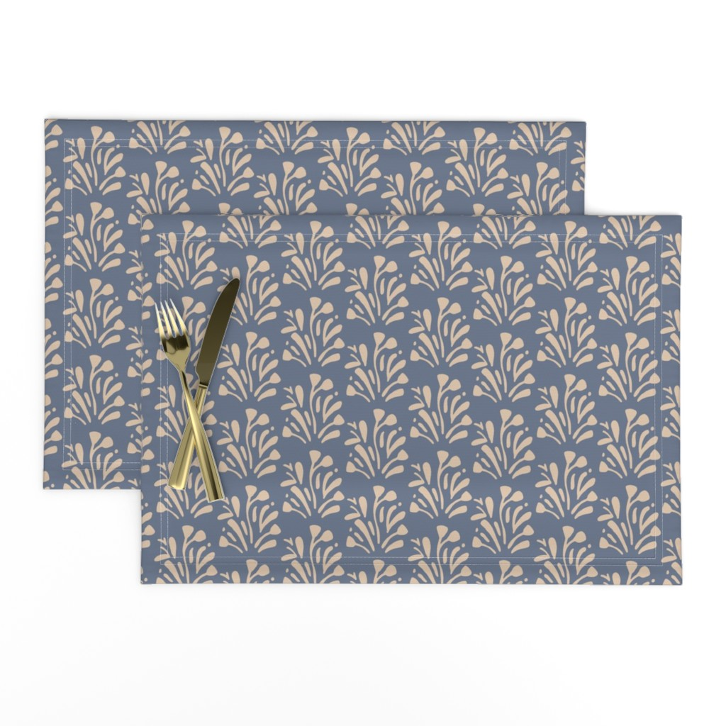 Lamona Cloth Placemats featuring Stems by jillianhelvey