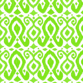 prism collection green ikat
