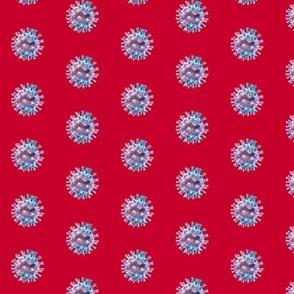 Coronavirus Shutter Red