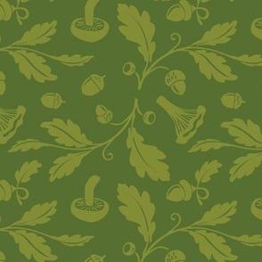 Acorns | green