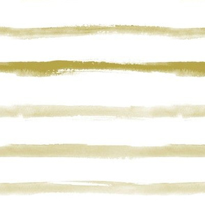 Neutral earthy boho watercolor hand painted stripes for modern minimal mustard nursery, home decor, bedding