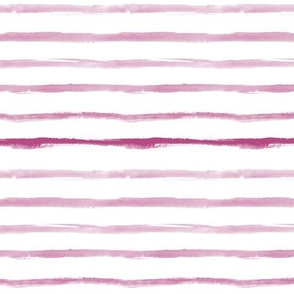 Berry painted stripes - watercolor p267