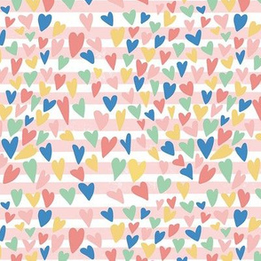 Happy Hearts - Stripes
