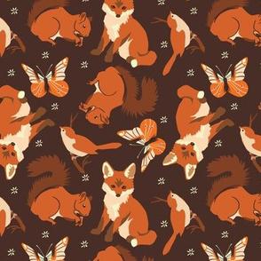 Forest animals | brown