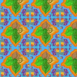 Med. Leaves, Lines & Doodles by DulciArt,LLC
