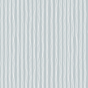 inverted squiggle stripes   small scale in grey blue