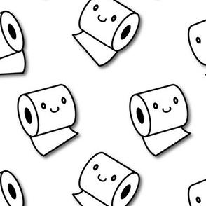 happy toilet paper - big