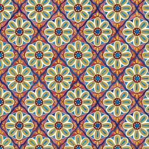 MINI Moroccan tiles - sapphire