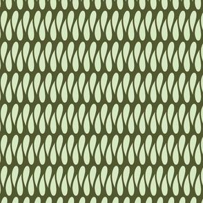 Ribbon Candy - Green