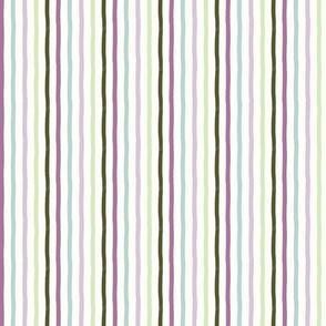 Ultra Violet Painted Stripe - Hunter & Pastels