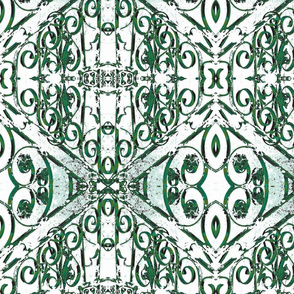 Iron Filigree - Green