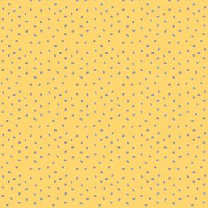 Modern Dot Golden / Grey Animal Print