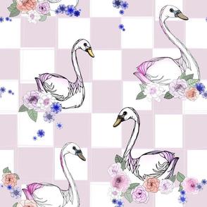 Swanning Swans