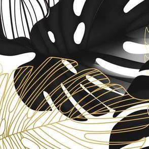 Black monstera BIG