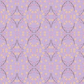 Pastel Garden Mirror Lilac