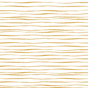 Gold Painted Stripes
