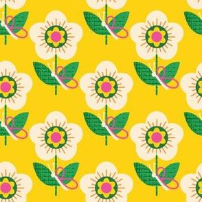 Butterfly Perch ~ Yellow