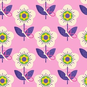 Butterfly Perch ~ Pink