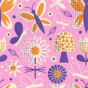 Butterflies ~ Pink