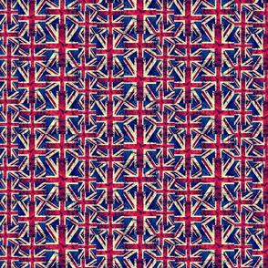 MEDIUM RETRO BRITISH FLAGS