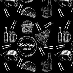 Del Ray Foodie (Black)
