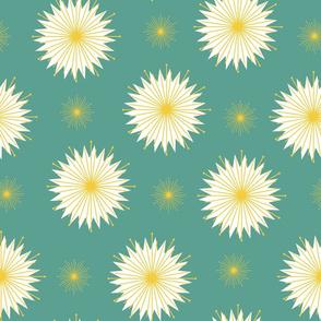 Dreamy Dandelions - Teal