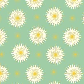 Dreamy Dandelions - Mint