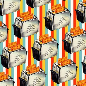 Toaster - Stripes
