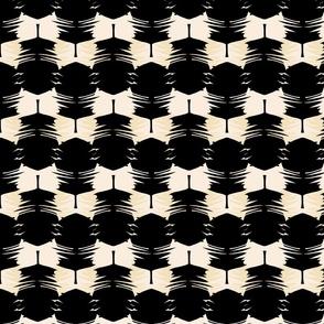 Black palm leaf 3x3