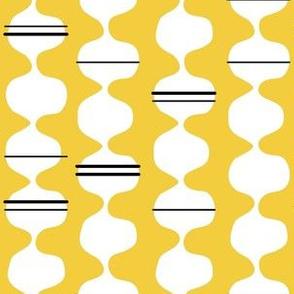 Funky Stripe - Yellow