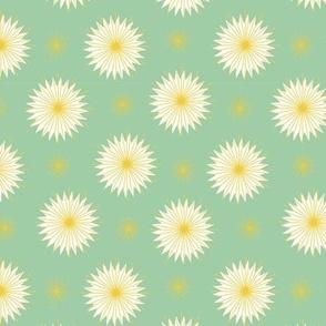Dreamy Dandelions - Mint Small