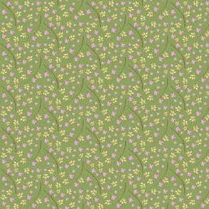 Pastel Garden Olive
