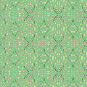 Pastel Garden Green