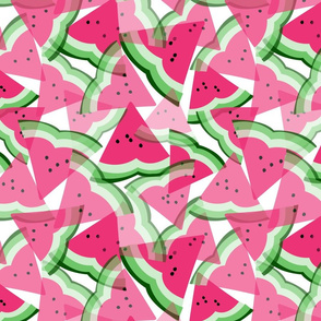 Watermelon Slices Garden