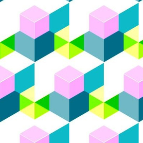Cubes and hexagons