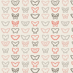 Tangled Butterflies II - Geometric