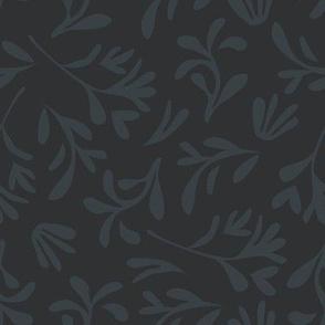 Simple leaf [black]